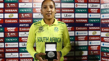 South Africa v Sri Lanka, 8th Match, Group A, ICC Women's World T20 at St Lucia, Nov 12 2018.