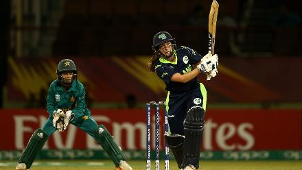 Ireland v Pakistan, 9th Match, Group B, ICC Women's World T20 at Providence, Nov 13 2018.