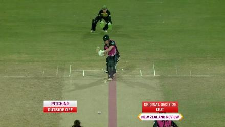 AUS v NZ: Peterson goes for a two-ball duck in the first over