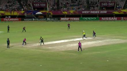 AUS v NZ: Perry goes for just 3, caught by Kerr off Kasperek