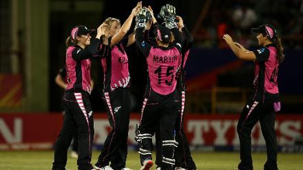 Australia v New Zealand, 10th Match, Group B, ICC Women's World T20 at Providence, Nov 13 2018.