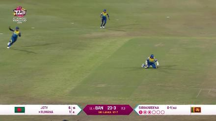 SL v BAN: Highlights of Shashikala Siriwardene's all-round performance