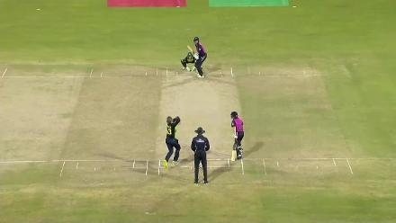 AUS v NZ: Bates is dismissed lbw by Gardner for 48
