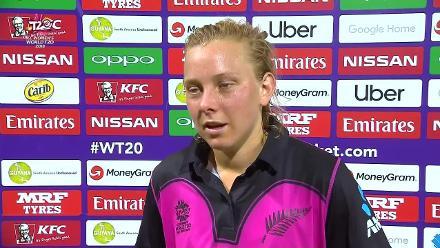 AUS v NZ: Leigh Kasperek innings break interview