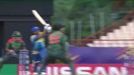 SL v BAN: Rumana Ahmed sends back Eshani Lokusooriyage