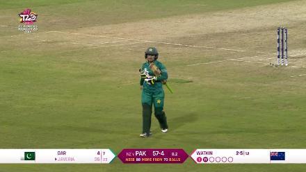 NZ v PAK: Highlights of Jess Watkin's 3/9