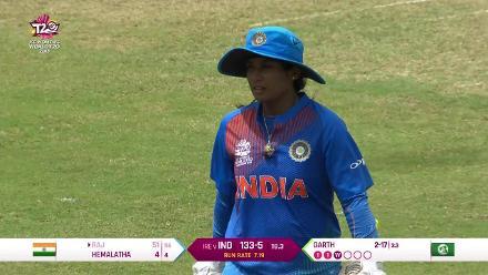 IND v IRE: Mithali Raj falls for 51