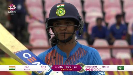 IND v IRE: Harmanpreet Kaur brilliantly caught by Shauna Kavanagh