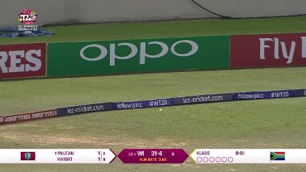 WI v SA: Windies innings highlights