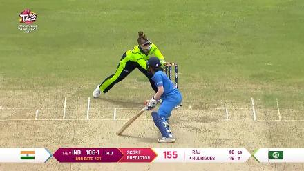 IND v IRE: Jemimah Rodrigues stumped