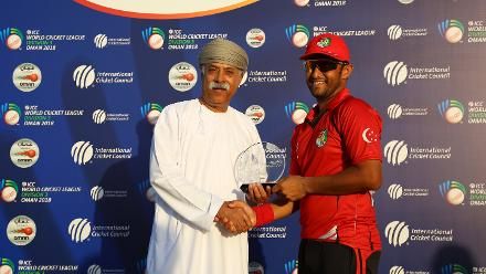 Singapore v Uganda, 9th Match, ICC World Cricket League Division Three at Al Amarat, Nov 15 2018