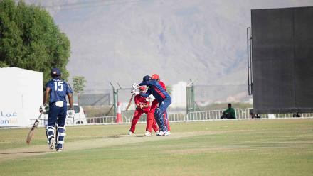 USA v Denmark, 10th Match, ICC World Cricket League Division Three at Al Amarat, Nov 15 2018