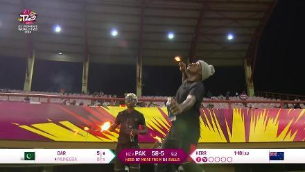 NZ v PAK: Muneeba Ali hands Satterthwaite an easy catch