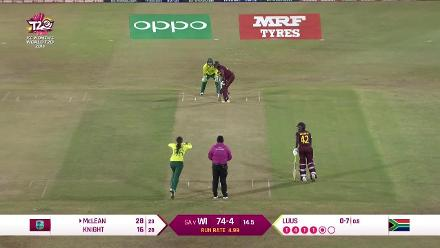 WI v SA: All Windies wickets