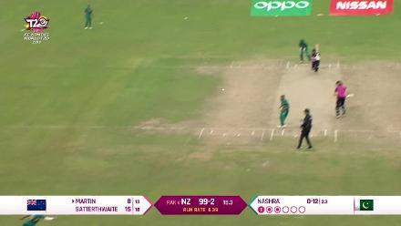 NZ v PAK: New Zealand innings highlights