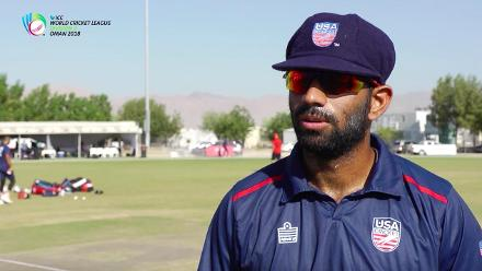 WCL 3 – USA captain Saurabh Netravalkar speaks before match against Singapore