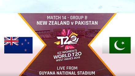 NZ v PAK: Short highlights