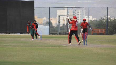 Kenya v Singapore, 12th Match, ICC World Cricket League Division Three at Al Amarat, Nov 16 2018