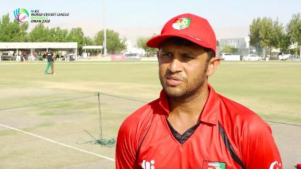 WCL Div 3 – Singapore captain Chetan Suryawanshi speaks before game against Kenya