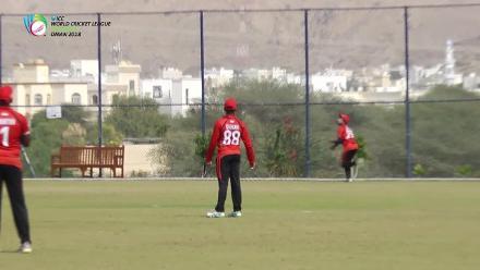 WCL3 - Stunning catch by Arjun Mutreja of Singapore in match vs Kenya
