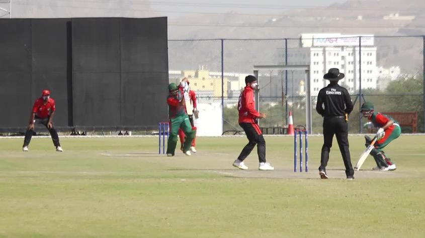 WCL Div 3 – Kenya's Narendra Kalyan Patel scores a half-century against Singapore