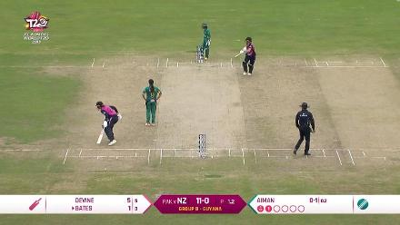 NZ v PAK: Full match highlights
