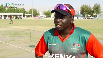 WCL Div 3 – Kenya captain Shem Ngoche speaks before game against Singapore