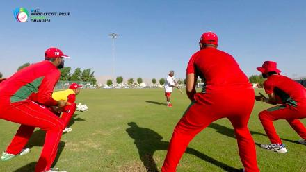 WCL Div 3 – Oman captain Zeeshan Macsood speaks before game against USA