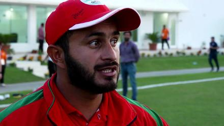 WCL3 - Oman captain, Zeeshan Maqsood, speaks after victory over USA.