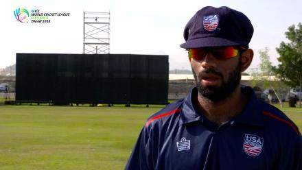 WCL Div 3 – USA captain Saurabh Netravalkar speaks before game against Oman