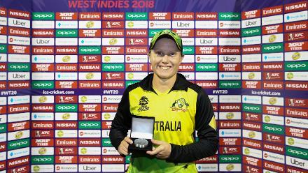 IND v AUS: Alyssa Healy, Australia's explosive opener