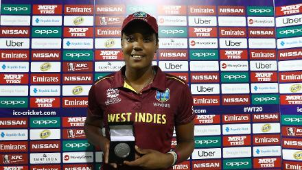 WI v SL: Player of the Match – Hayley Matthews