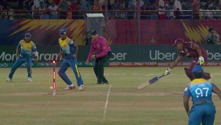 WI v SL: Windies fall of wickets