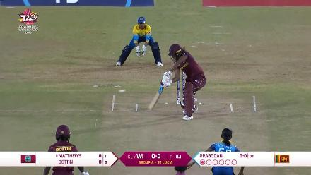 WI v SL: Highlights of Hayley Matthews' 62 off 36