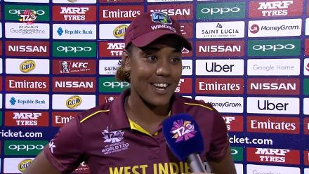 WI v SL: 'I had a pretty good time out there' – Matthews (36-ball 62)