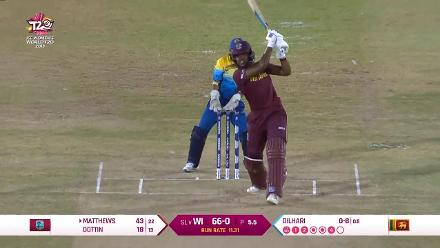 WI v SL: West Indies innings highlights