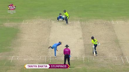 IND v AUS: Taniya Bhatia's stumpings in WT20 2018
