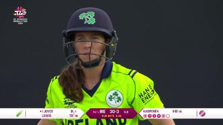 NZ v IRE: Highlights of Leigh Kasperek's 3/19