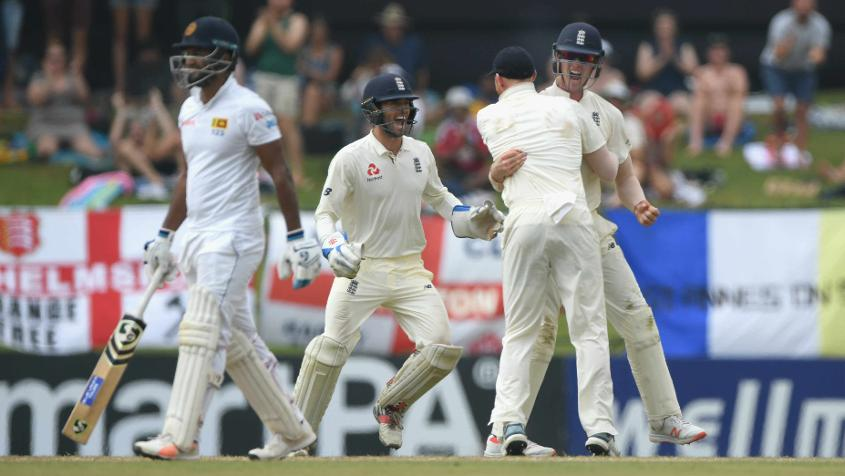 Stubborn Silva inches Sri Lanka past England