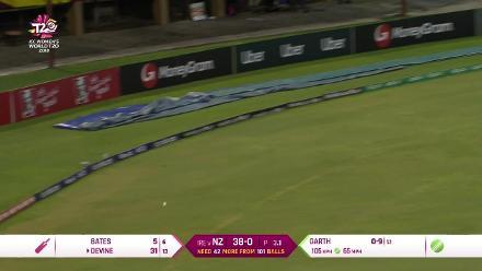 NZ v IRE: Devine batting highlights