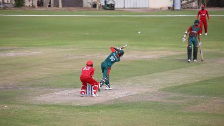 Denmark v Kenya, 13th Match, ICC World Cricket League Division Three at Al Amarat, Nov 18 2018