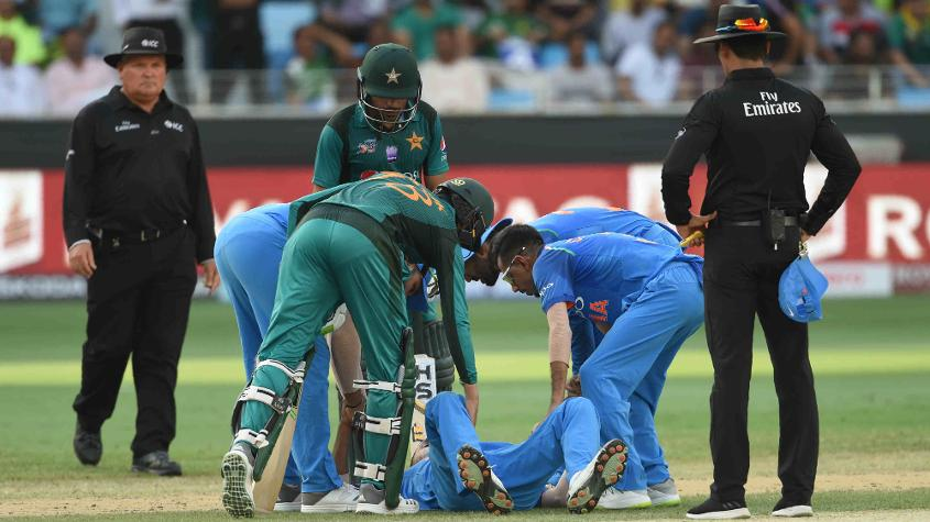 Hardik Pandya is absent because he was injured during Asia 2018