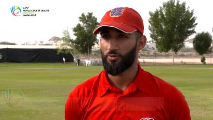 WCL 3 – Denmark captain Hamid Shah speaks before match against Kenya