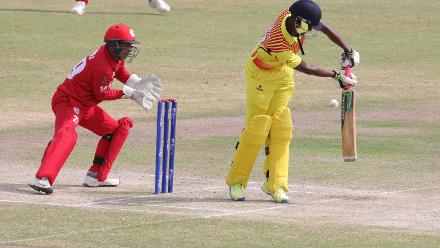 Oman v Uganda, 14th Match, ICC World Cricket League Division Three at Al Amarat, Nov 18 2018