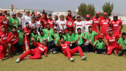 Oman v Uganda, 14th Match, ICC World Cricket League Division Three at Al Amarat, Nov 18 2018