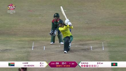 SA v BAN: Marizanne Kapp, Player of the Match