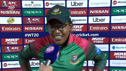 SA v BAN: Rumana Ahmed, mid-innings interview