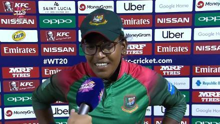 SA v BAN: Rumana Ahmed, mid-innings interview
