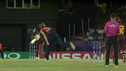 Nissan POTD: Dottin belts a massive six down to long-on