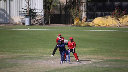 USA v Singapore, 15th Match, ICC World Cricket League Division Three at Al Amarat, Nov 19 2018